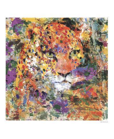 Leopard-LeRoy Neiman-Art Print