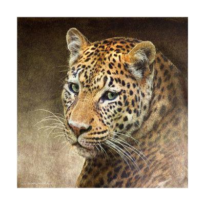 Leopard-Chris Vest-Art Print