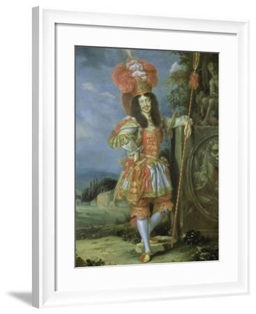 """Leopold I (1640-1705), Holy Roman Emperor, in Theatrical Costume, Dressed as Acis from """"La Galatea""""- Thomas of Ypres-Framed Giclee Print"""