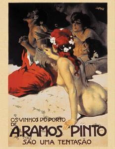 A Ramos Pinto, c.1922 by Leopoldo Metlicovitz