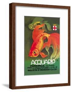 Acquario by Leopoldo Metlicovitz