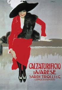 Calzaturificio Di Varese, c.1913 by Leopoldo Metlicovitz