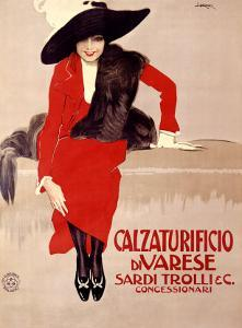 Calzaturificio di Varese by Leopoldo Metlicovitz