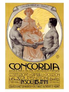Concordia by Leopoldo Metlicovitz
