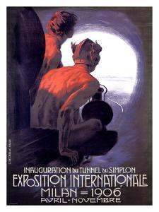 Expo Internationle Milan, 1906 by Leopoldo Metlicovitz