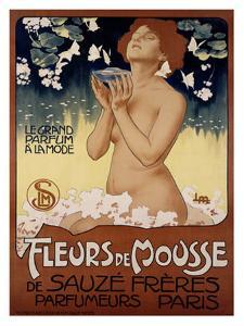Fleur de Mousse by Leopoldo Metlicovitz