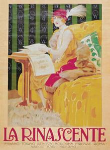 La Rinascente by Leopoldo Metlicovitz
