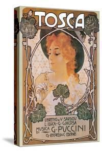La Tosca by Leopoldo Metlicovitz