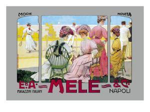 Mode Novita, E. A. Mele by Leopoldo Metlicovitz