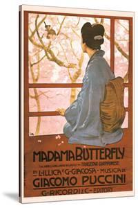 Puccini, Madama Butterfly by Leopoldo Metlicovitz
