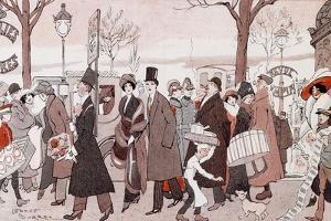 The Boulevard, 1913 by Leopoldo Metlicovitz