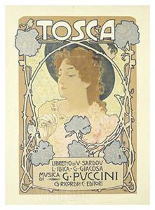 Tosca by Leopoldo Metlicovitz