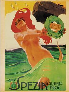 Varo Nave Roma, c.1907 by Leopoldo Metlicovitz