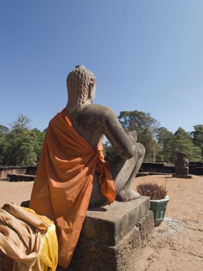 Leper King Terrace, Angkor Thom, Angkor, Siem Reap, Cambodia, Indochina, Southeast Asia-Robert Harding-Photographic Print