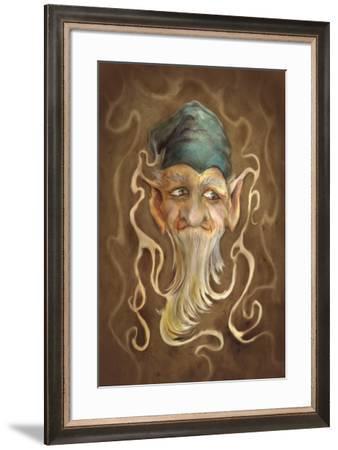 Leprechaun-Patricia Dymer-Framed Giclee Print