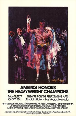 America Honors The Heavyweight Champions
