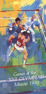 Games of the XXII Olympiad, Moscow by LeRoy Neiman