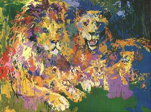 Lions Pride by LeRoy Neiman