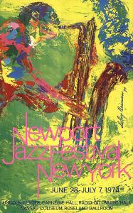 Newport Jazz Festival New York by LeRoy Neiman