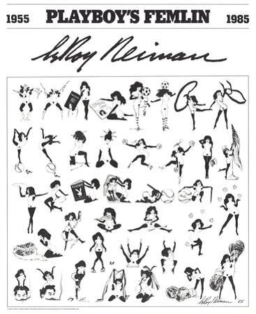 Playboy's Femlin by LeRoy Neiman