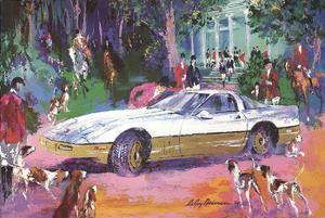Rendezvous a la Corvette by LeRoy Neiman