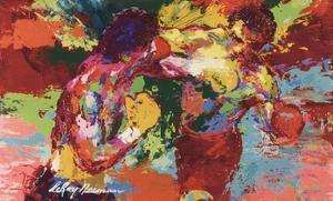 Rocky Vs. Apollo by LeRoy Neiman