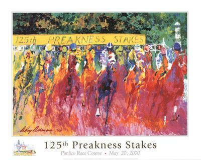 The Preakness Stakes by LeRoy Neiman