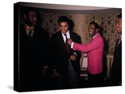 Muhammad Ali Jokes with Famous Athletes, January of 1971