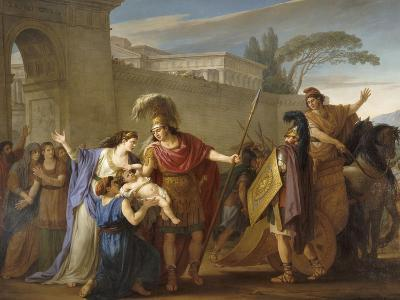 Les Adieux d'Hector et Andromaque-Joseph Marie Vien-Giclee Print
