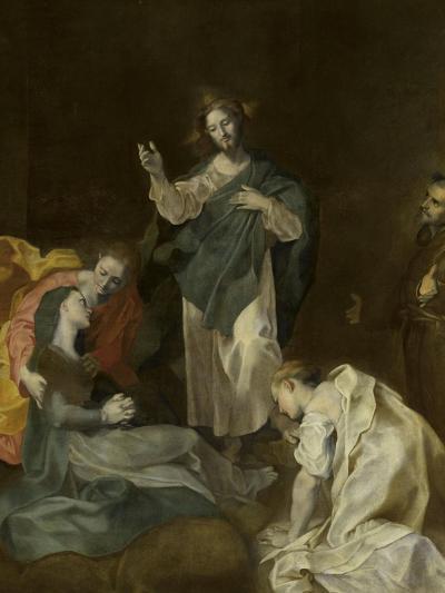 Les adieux du Christ à sa mère-Federico Barocci-Giclee Print