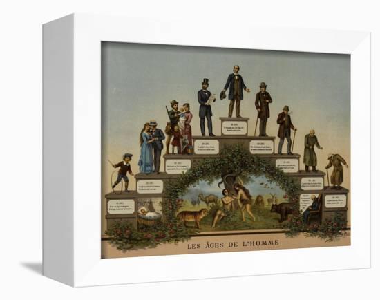 Les Âges de l'Homme-null-Framed Premier Image Canvas