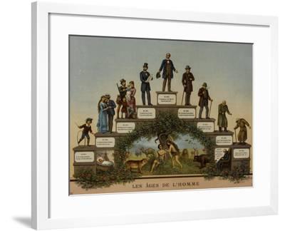 Les Âges de l'Homme--Framed Giclee Print