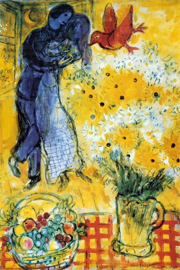 Les Amoureux-Marc Chagall-Poster