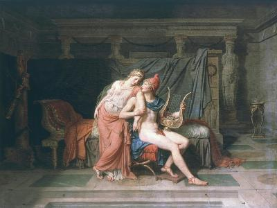 Les Amours De Pâris Et D'Hélène (Love of Paris and Helen), 1788-Jacques-Louis David-Giclee Print