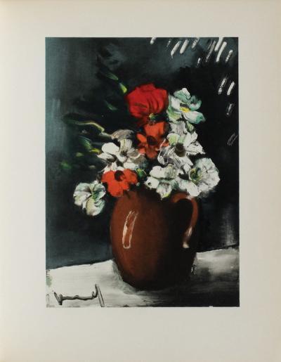Les Anemones, 1955-Maurice De Vlaminck-Collectable Print