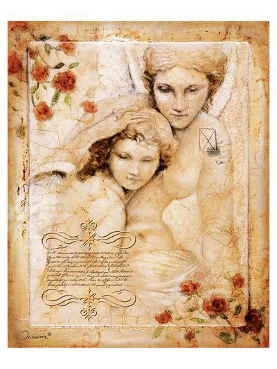 Les Anges-L'Ange Gardien-Joadoor-Art Print