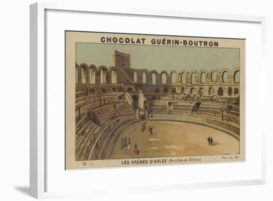 Les Arenes D'Arles, Bouches-Du-Rhone--Framed Giclee Print