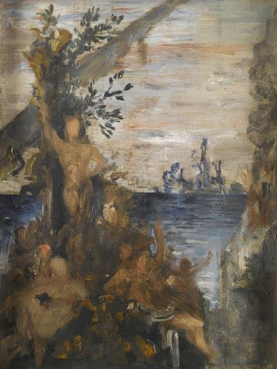 Les Argonautes-Gustave Moreau-Giclee Print