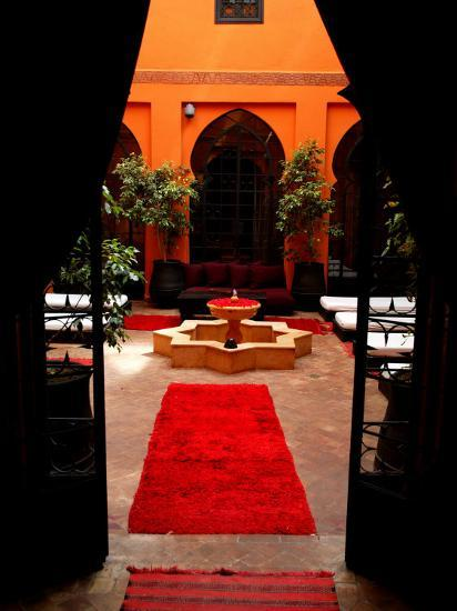 Les Bains De Marrakesh, Marrakesh, Morocco-Doug McKinlay-Photographic Print