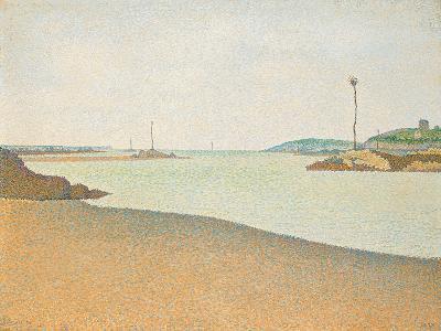 Les Balises, Saint-Briac, 1890-Paul Signac-Giclee Print