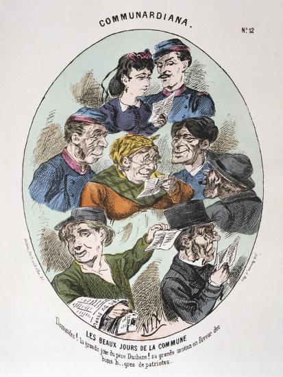 Les Beaux Jours De La Commune, 1871--Giclee Print