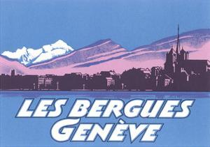 Les Berguies Geneve Poster