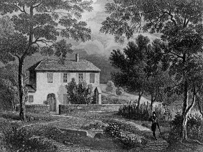 Les Charmettes House of Madame De Warens (1699-1762) Near Chambery, Where Rousseau Stayed--Giclee Print