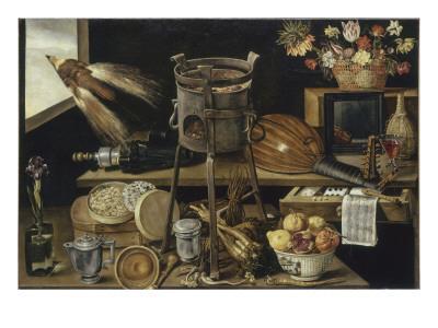 Les cinq sens et les quatre éléments-Jacques Linard-Giclee Print