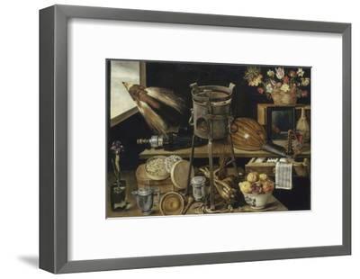 Les cinq sens et les quatre éléments-Jacques Linard-Framed Giclee Print