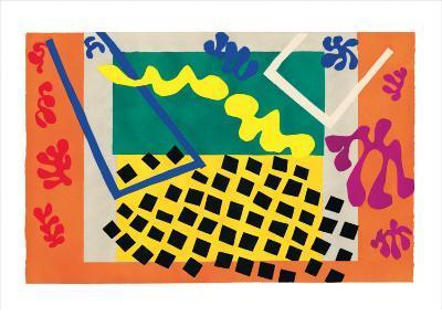 Les Codomas-Henri Matisse-Art Print