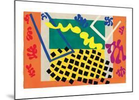 Les Codomas-Henri Matisse-Mounted Art Print