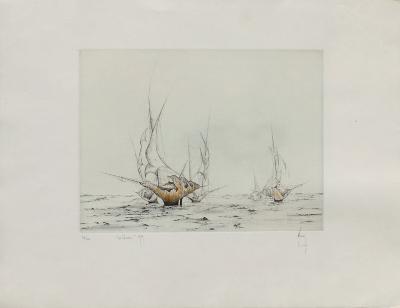 Les Corsaires-Bernard Louedin-Limited Edition