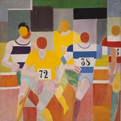 Les Coureurs, 1926-Robert Delaunay-Giclee Print