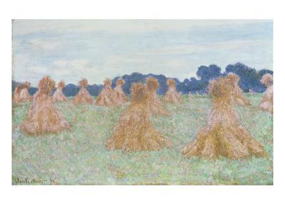 Les Demoiselles de Giverny, 1894-Claude Monet-Giclee Print